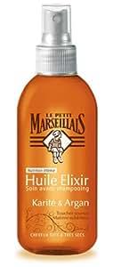 Le Petit Marseillais Huile Nutrition Intense Karité d'Argan Cheveux Secs à très secs Spray 150 ml