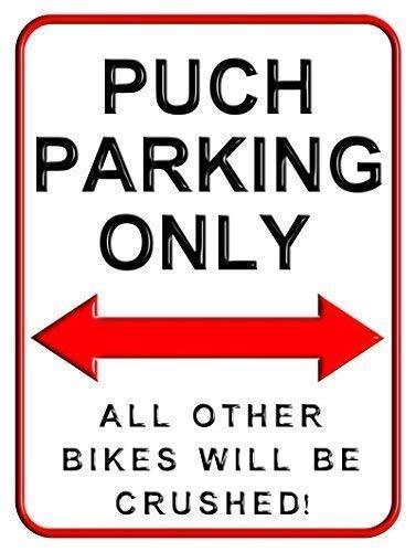 Toddrick Puch Parking Only Parking Zinn schicke Zeichen Vintage-Stil Retro Küche Bar Pub Coffee Shop Dekor 8