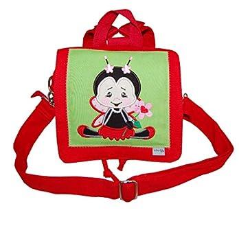 Rucksack/Kindergartentasche mit Marienkäfer – individuelle Anfertigung