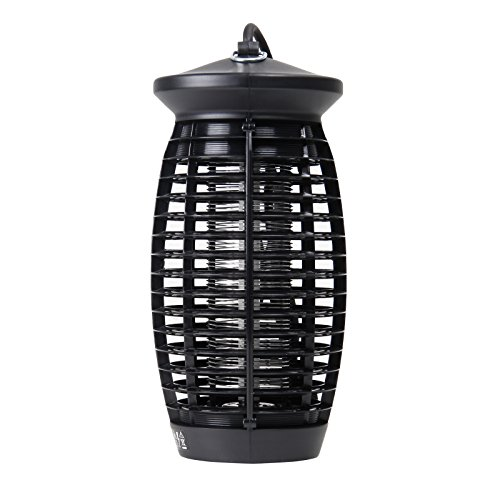 Yorbay H03 Insektenvernichter mit UV-Licht, GS geprüft, 6W für Mücken, Schwarz, 15 x 15 x 32 cm (Licht Eisen 15)