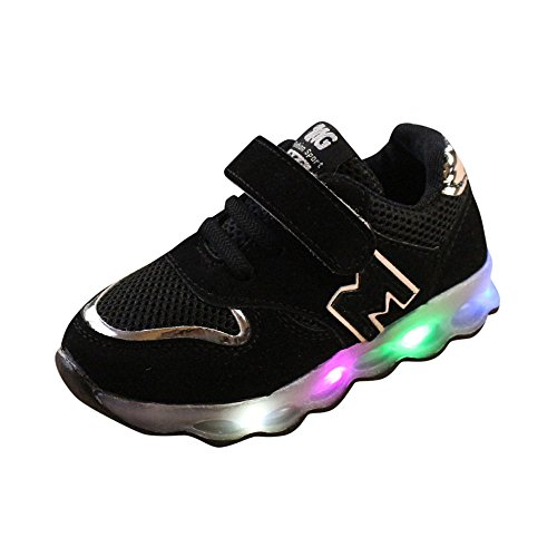 Honestyi_scarpine neonato scarpe bambino con luci invernali sportive classico luce a led scarpe bambino corsa luminose calcio ginnastica eleganti bambini de ragazzi ragazze caldo morbido sneaker