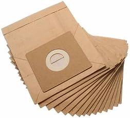 atoz prime General Vacuum Cleaner Dust Paper Bags Accessories Part, 110x100mm - 15 Pcs