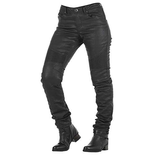 Overlap Imola Night Jeans für Damen, zugelassen, Schwarz, Größe 28