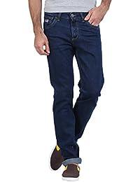 Raa Jeans Men's Slim Fit Blue Jeans
