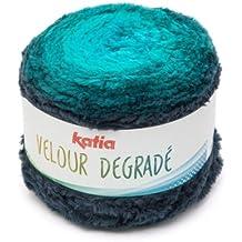 Katia Velour degradé–Color: turquesas (200)–250g/aprox. 350m lana