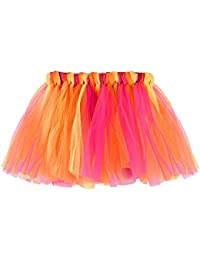 9d33c772916 LUBITY Filles Enfants Danse de BéBé Tutu Moelleux Jupe Pettiskirt Ballet  Fantaisie Costume Tutu de Danse Couleur Chic Pas Cher Mode…