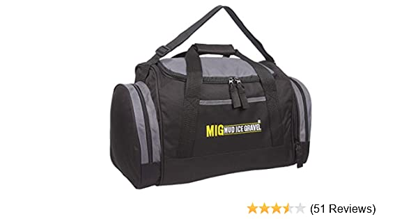 ef339a45fe88 Mens Holdall Gym Sports Bag in 3 Colours - Fishing Camping School Travel  Work (Black)  Amazon.co.uk  Luggage