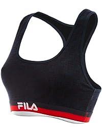 Amazon.fr   brassiere femme - Fila   Vêtements d0e97f38ac6