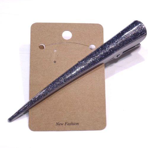 rougecaramel - Accessoires cheveux - Pince bec/Pince concorde - gris