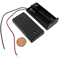 BeatlGem Battery Holder 2AA Battery - w/Wires Switch