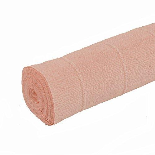Krepppapierrolle 50cm x 2,5m Salmon Pink Blush (Blush Pink Papier-blumen)