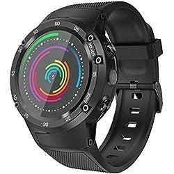YouN Zeblaze THOR 4 4G Android Bluetooth relojes inteligente WiFi 5MP reloj de pulsera de la cámara