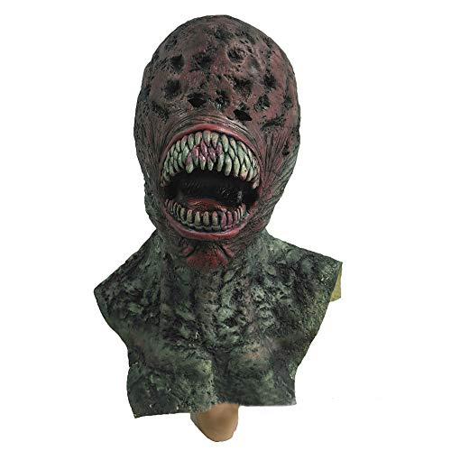 evil Horror Halloween Maske New Ghost Zombie Scary Maske Für Erwachsene ()