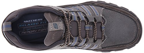 Skechers Gurman Oxford Trexman Usa Grigio Mens xSxqzOH