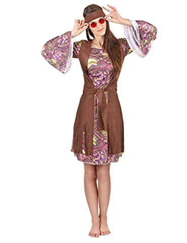 Hippie-Kostüm für Damen M / L