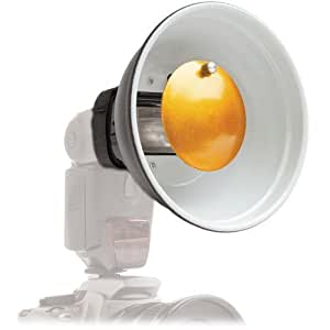 Polaroid Beauty Dish Diffuser per Canon, Nikon, Olympus, Sony, Panasonic, Pentax, Sigma & altre unità flash esterne