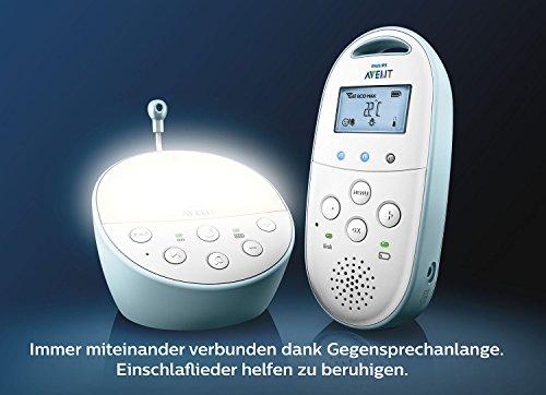 Philips Avent SCD560/00 DECT Babyphone, blau - 4