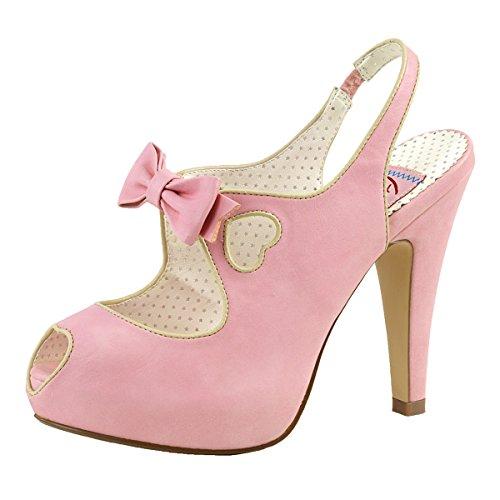 Heels-Perfect , Hi-Top Slippers femme Rose