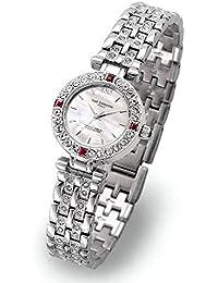 Isaac Valentino IZAX VALNTINO - Reloj de Pulsera para Mujer, diseño con Texto en inglés