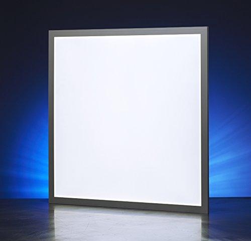 Auraglow LED-Panelleuchte / Deckenleuchte Wandleuchte, Panel, viereckig, 40w, 3200 Lumen - 6000k - 600 x 600 mm