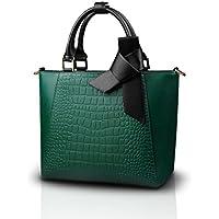 Nicole Doris nuove donne / signore della borsa della spalla del Tote Borsello grano del coccodrillo Fashion PU Magnifico