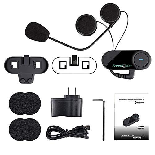 Bianchi 800M Intercom Headset Wireless Interphone Motorbike Helmet Headset Stereo-intercom-panel