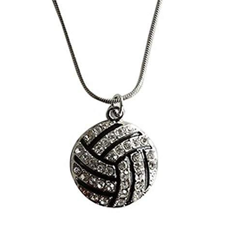 FyaWTM Halskette Schmuck Choker for Magic New Casual Item Beste Volleyball Anhänger Halskette