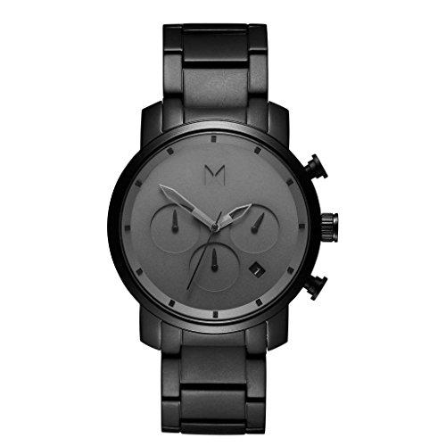 MVMT CHRONO GREY BLACK LINK 40mm Herren Watch Uhr