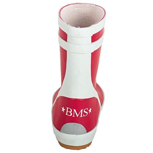 BMS Bottes en caoutchouc rouge taille 20 Rouge