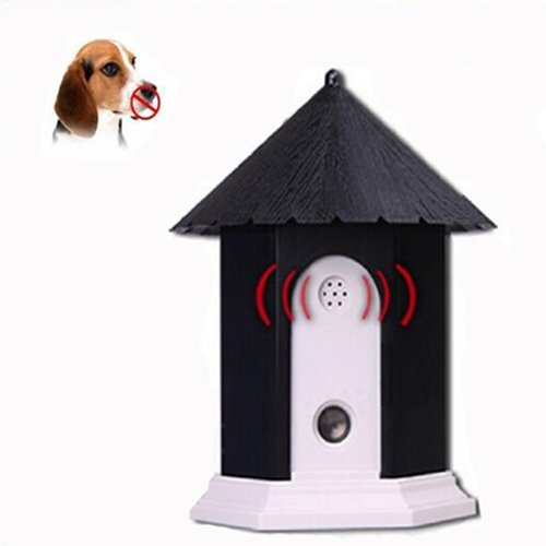 codomoxo Waterproof Outdoor Anti bark Ultrasonic Bark Control System for pet training dog Bark protection