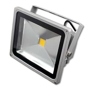 Liroyal 30W WARMWEISS - LED Flutlicht Fluter Strahler Scheinwerfer Licht objektbeleuchtung SMD IP65
