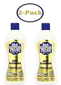Bar Keepers Friend Liquid Soft Cleaner - 13 oz - Total26 oz - Pack Of 2