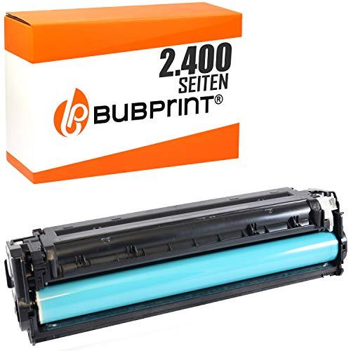 Bubprint Toner kompatibel für HP CF210X 131X für Laserjet Pro 200 color M251N M251NW M276N M276NW 2400 Seiten Schwarz -