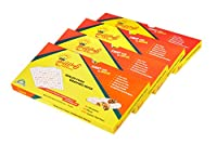 COMBO PACK OF 2 ORGANIC SELF SEALING,MOISTURE LOCK FOOD WRAPPING PAPER