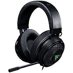 Razer Kraken 7.1 V2: Son ambiophonique 7.1 - Micro de réduction de bruit rétractable - Cadre en aluminium léger - Casque Gaming compatible PC, PS4 / PS4 PR0 - Noir