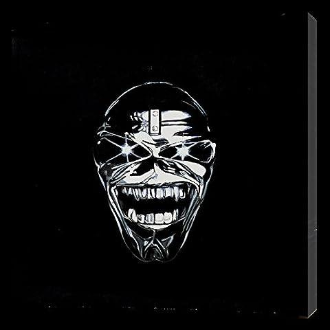 Iron Maiden 16x 16dipinto a olio su tela ma Box Framing disponibili su richiesta, si prega di contattarci via email per dettagli. Molti Altri Iron Maiden, disponibile anche come qualsiasi dimensione Desideri. Si prega di contattarci via email per dettagli. - Framing Olio Su Tela