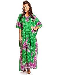 5f8795ba9887 Looking Glam Damen Überdimensional Maxi Kimono Kaftan Tunika Kaftan Damen  Top Freie Größe …