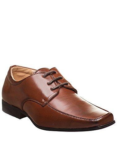 Paisley of London Elegante Schuhe, Jungen, für Hochzeit, Braun, Schuhgröße 23,5 - 36, braun - dunkelbraun - Größe: 38,5 EU Kinder