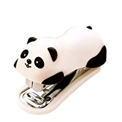 Cute Panda Mini Desktop Hefter & Heftklammern Hand Hefter Office/Home Hefter (6 * 2,5 cm)