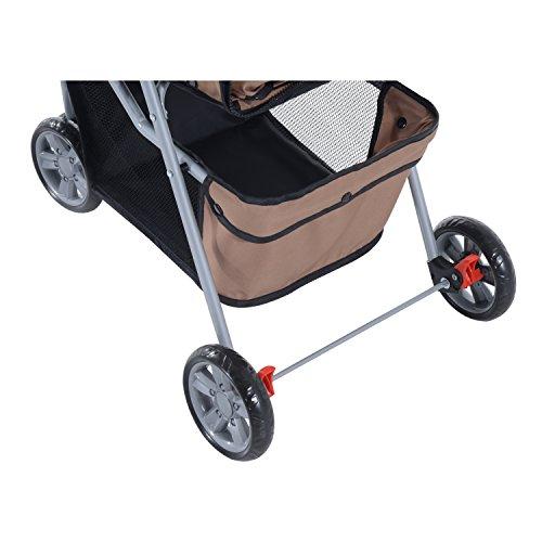 Pawhut passeggino per cani di piccola media taglia e for Amazon trasportini per cani