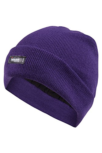 Mountain Warehouse Thinsulate Womens Knitted Beanie - Knitted Effect Hat, Double Lined Ladies Cap, Thinsulate Material Sun Hat - Ideal For Cold Weather