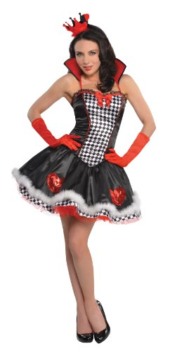 Herzdame Kostüm Damen Gr. L (ca. D 40-42)