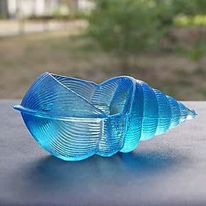 Bleu coquillage/Style Cendrier Creative personnalité Office, pièce de décoration