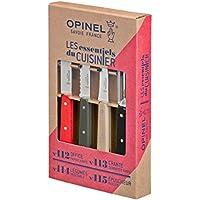 Opinel Loft Kitchen Knife Set - Multicoloured