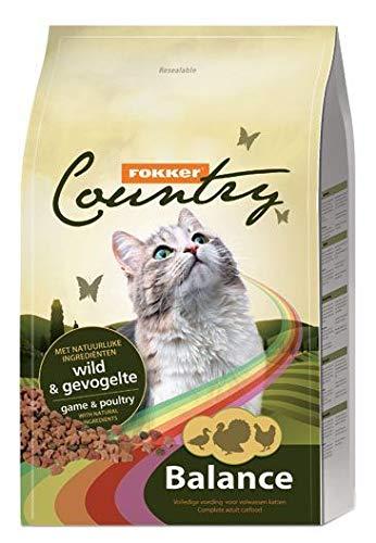 Fokker Kat Country Balance wild/gevogelte kattenvoer 10 KG