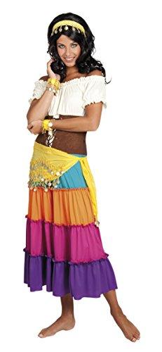 Halloweenia - Damen Kostümzubehör: Gypsy Set- Haarband, Armband, Gürtel, (Halloween Hippie Gypsy Kostüm)