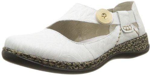 Rieker 46364/62, Damen Classics Weiß