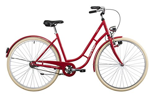 Ortler Detroit shiny red 2016 Cityrad