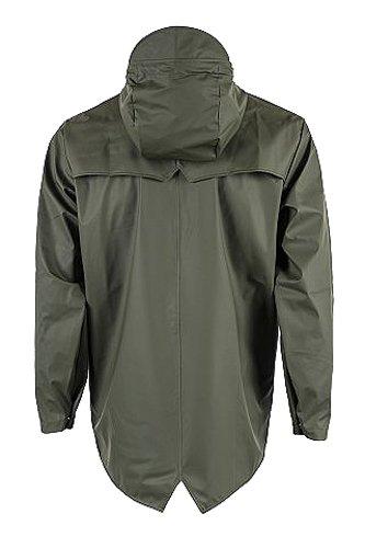 RAINS Jacket, Manteau Homme Vert