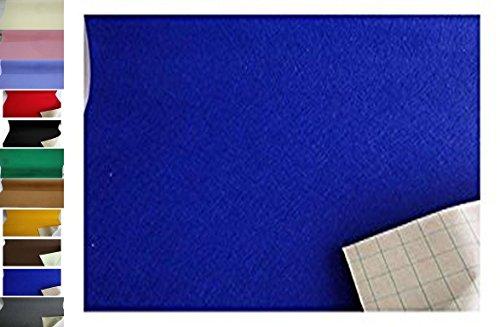 StoffBook EDEL BASTELFILZ FILZSTOFF SELBSTKLEBEND 100CM BREIT STOFF STOFFE,B887 (ROYALBLAU)